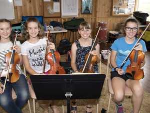 ( From left ) Natasha O'Neill, Amelia Tranter, Holly