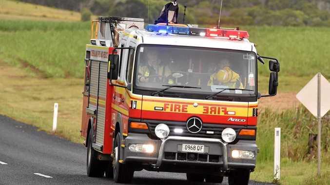 Fire breaks out at former Coast caravan seller