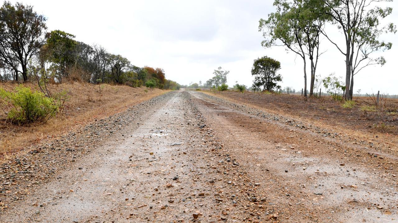 Road conditions at Milman