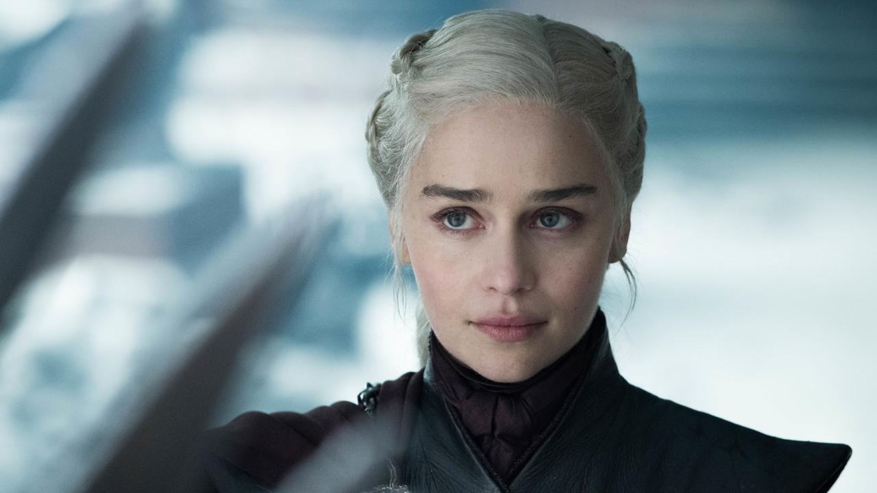 Emilia Clarke as Daenerys Targaryen in the original Game of Thrones. Picture: HBO/ Supplied
