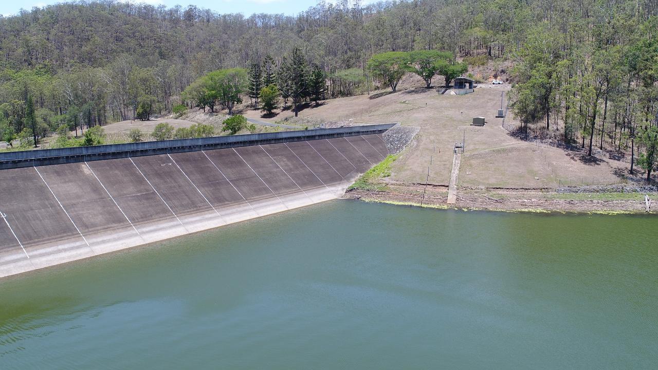 Arial View of Borumba Dam