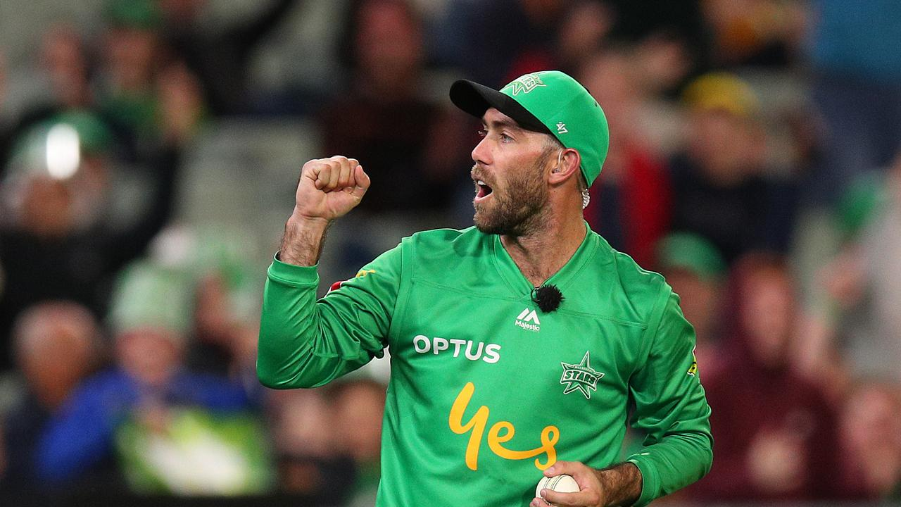 Glenn Maxwell has been on fire in the Big Bash.