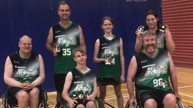 Coasters ready to bounce opposition in wheelchair basketball comp