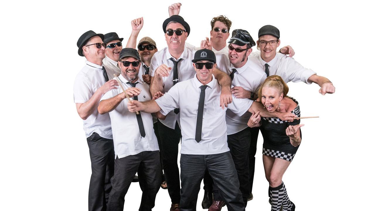 OLD SKOOL: The Sunny Coast Rude Boys band.