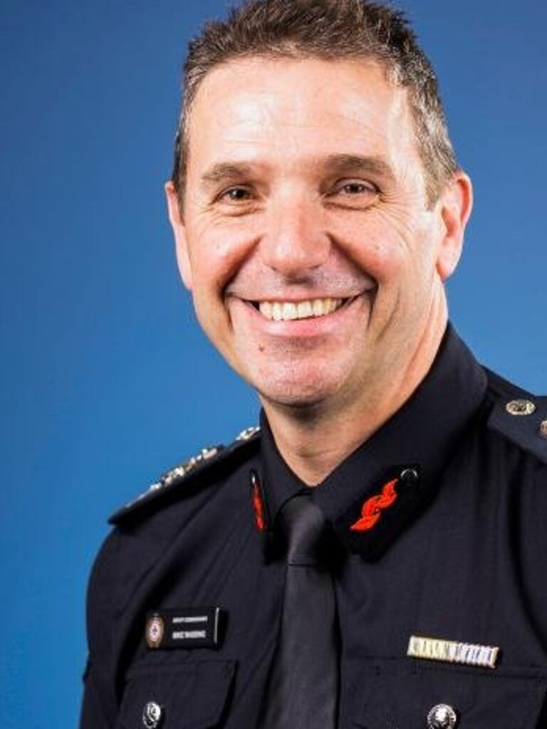 Queensland Fire and Rescue Service deputy commissioner Mike Wassing.