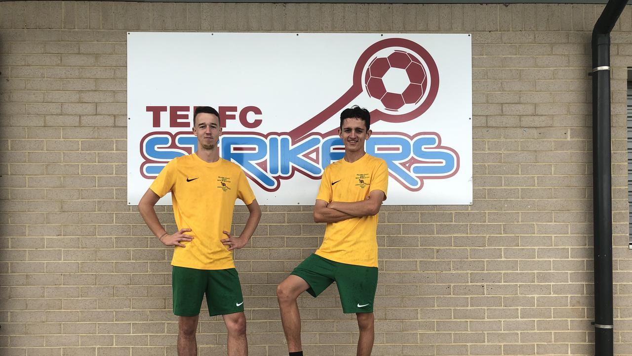 FIELD OF DREAMS: East Ballina players Jack Martin and Zack Miletic are off to play professional soccer in Germany after receiving a 12 month contract from 1.FC Schmeltz.