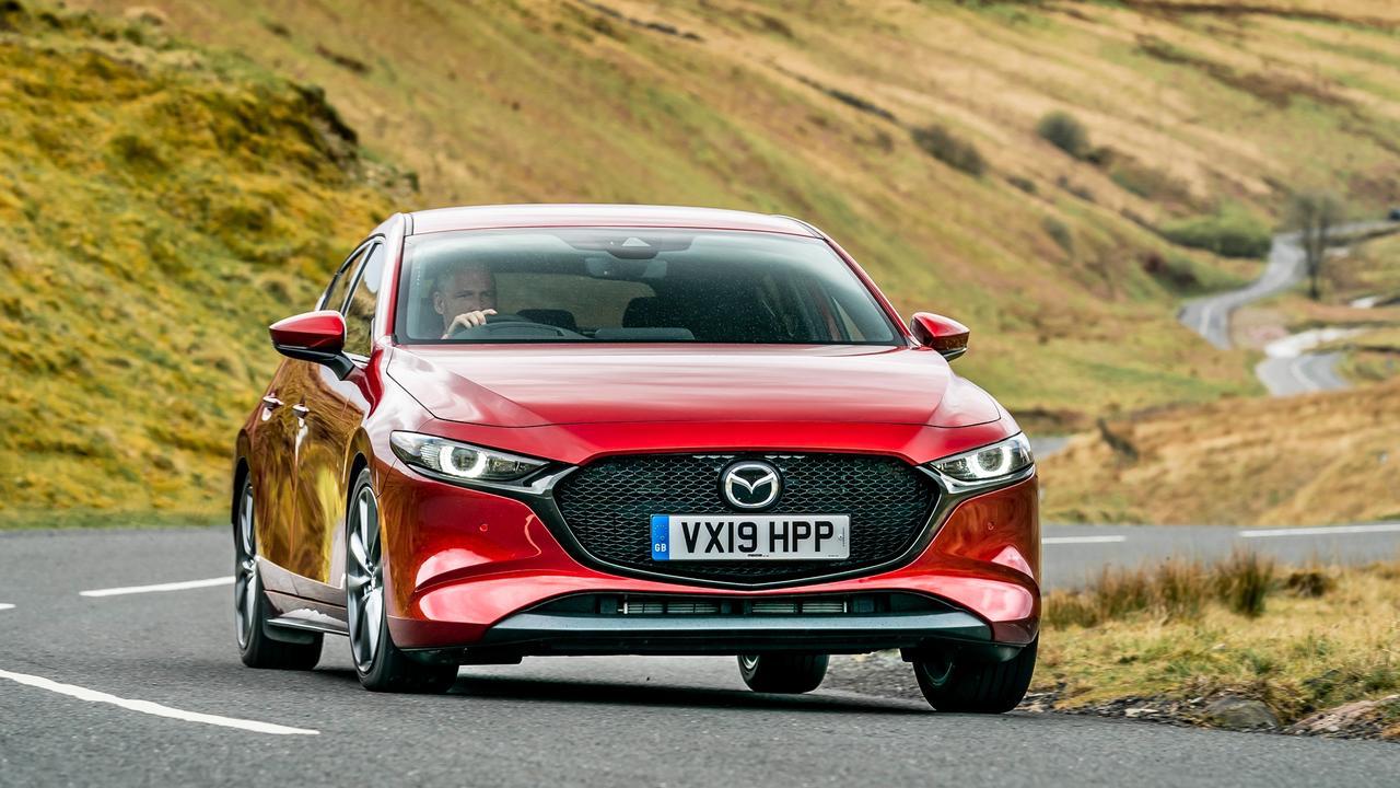 Mazda3 Skyactive (UK model shown)