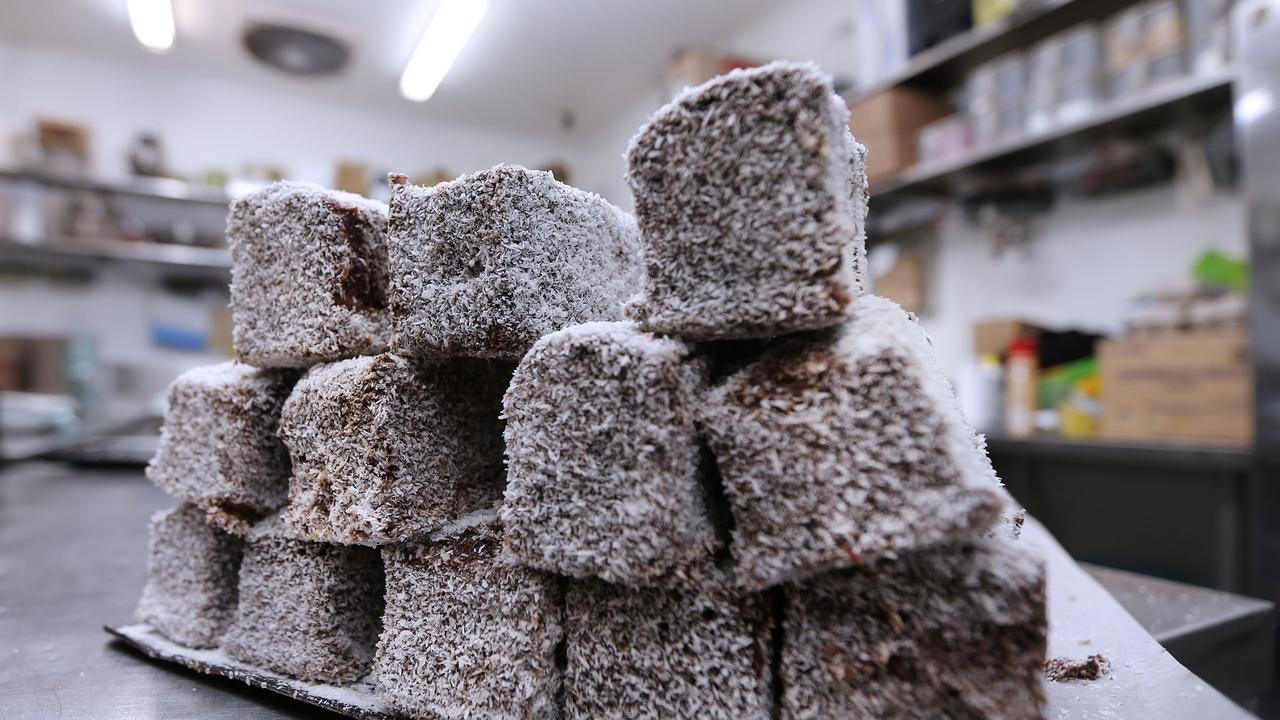 Australian's love lamingtons. Which is good because there are a number of lamington eating competitions across the city.