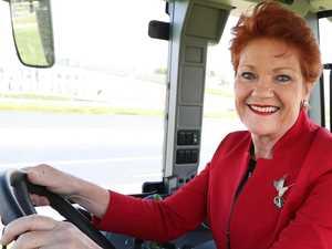 Hanson hammered for politicising Olympic bid