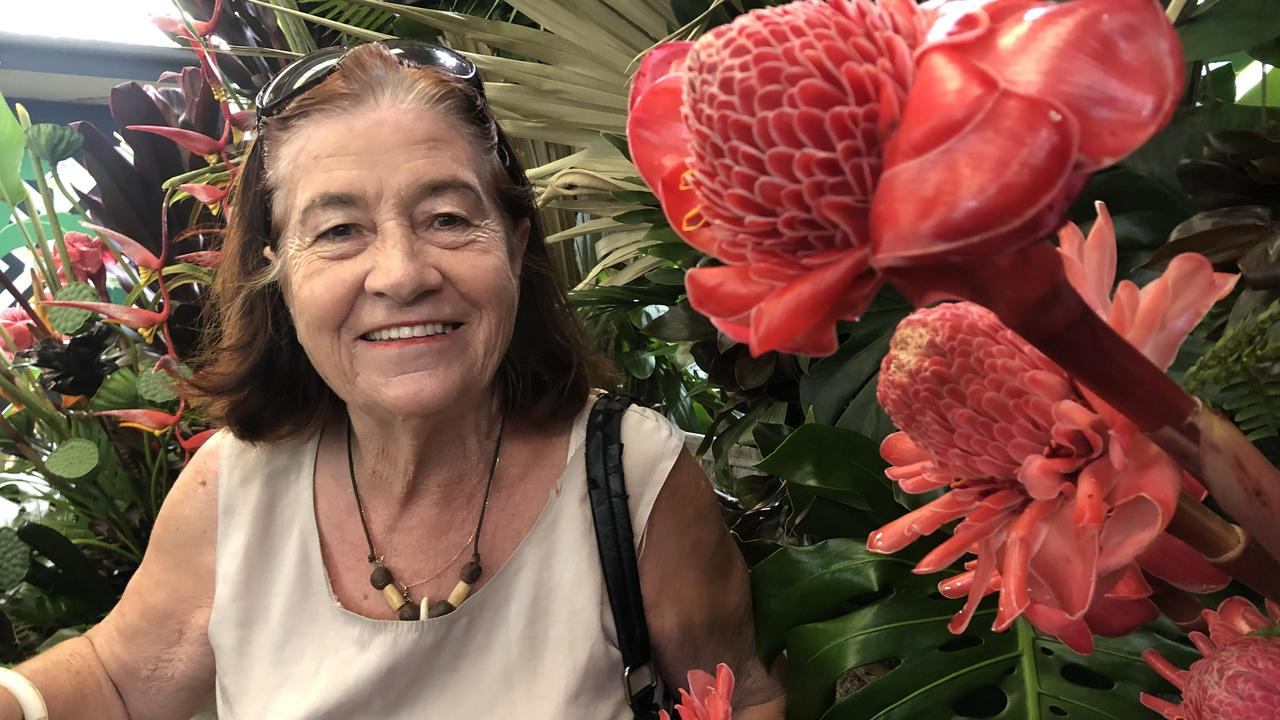 PLANT FRENZY: Plant lover Vicki Homberg has been attending the Ginger Flower and Food Festival for 20 years. Picture: Laura Pettigrew