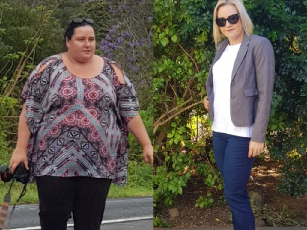 Selina's initial goal was to fit into a size 16 but, within two years, she was a size 10. PHOTOS: Supplied