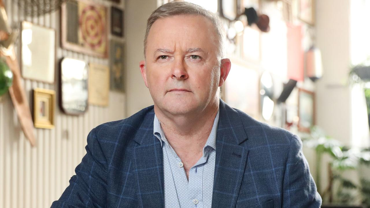 Federal Opposition Leader Anthony Albanese. Picture: Richard Dobson