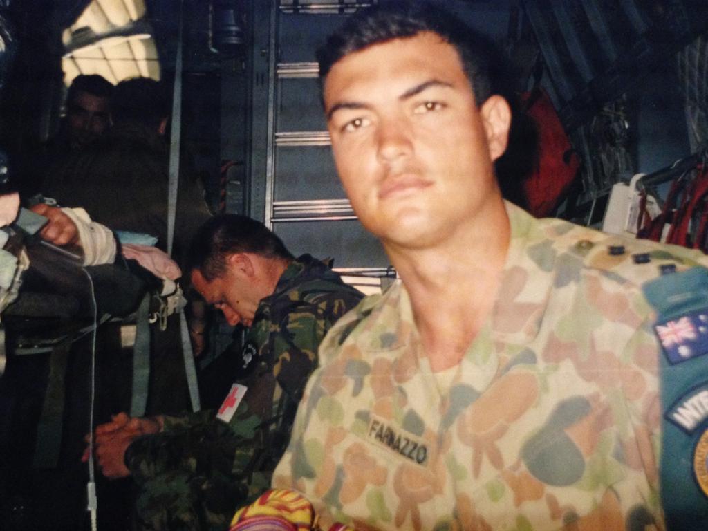 Ben Farinazzo is a Lifeline ambassador. Picture: Supplied