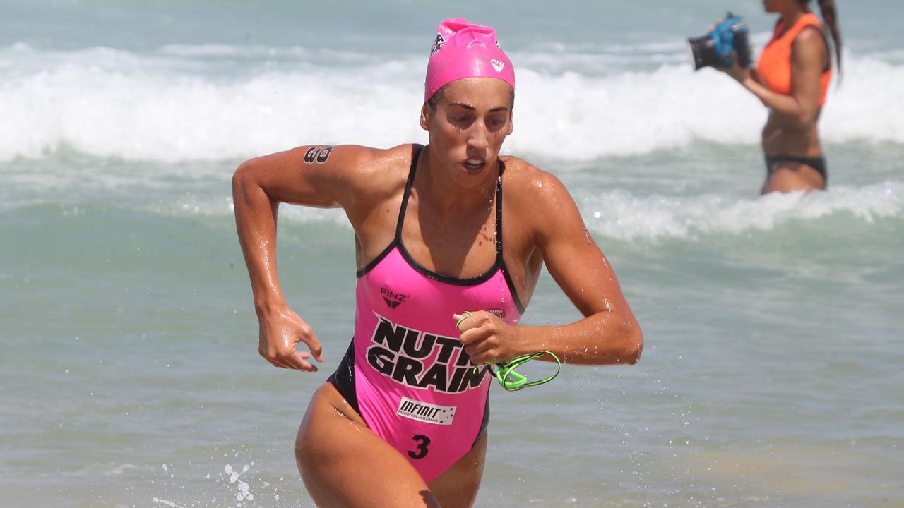Ironwoman champion Lana Rogers. Pic Mike Batterham