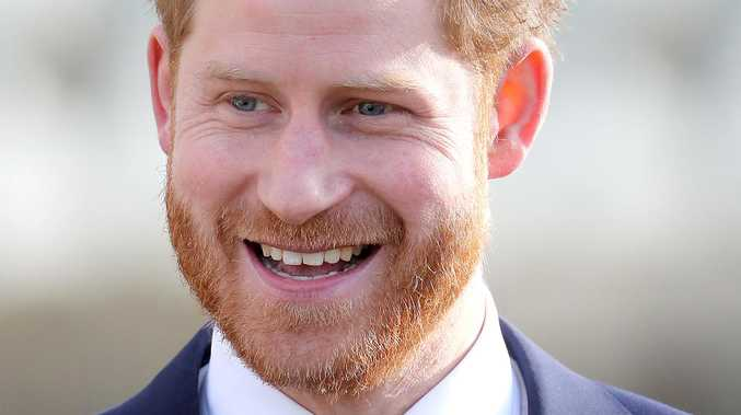 Harry's smile is an issue for the royals