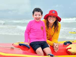 Jodie O'Rourke with Cody Chamings, 5 on Alexandra