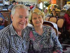 Maureen and Chris Lambert from Brisbane.
