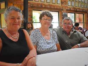 Lori Kibelkstis, John Fitzgibbon and Marg Skov.