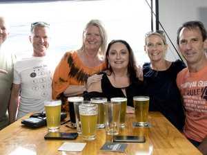 Beer for Bushfire Relief, from left; Darren Smith