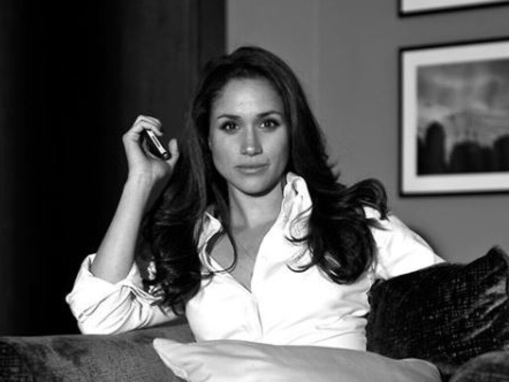 Meghan described Suits as her 'Goldilocks' show, where her mixed race background was just right. Picture: Instagram/Patrick Adams
