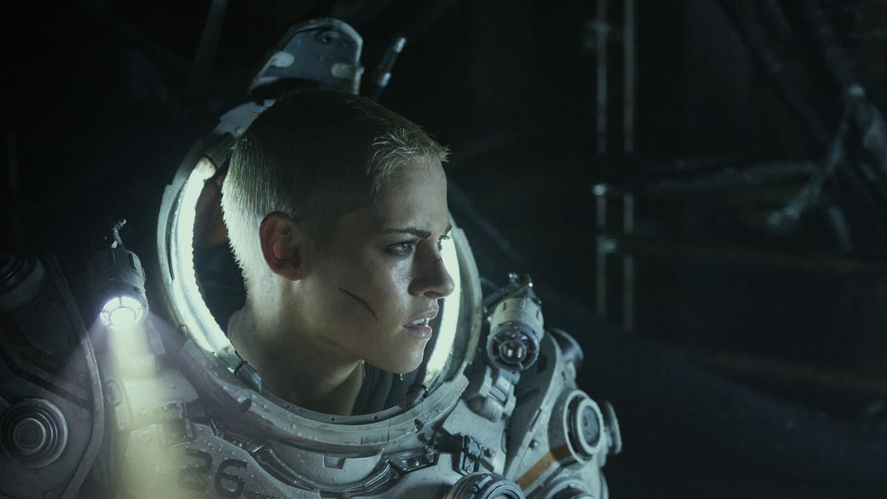 Kristen Stewart in a scene from Underwater.