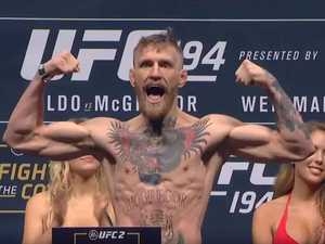 Ripped Conor McGregor looks in scary shape