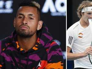 Kyrgios: 'Sorry for whatever I've done to you, Alexander'