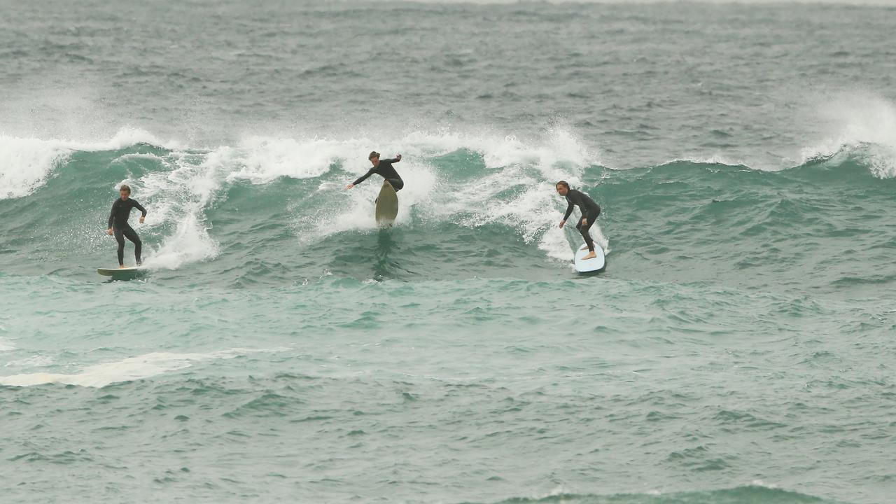 A surfer dislocated his shoulder when he came off a wave at Noosa. FILE PIC. Picture Rohan Kelly.