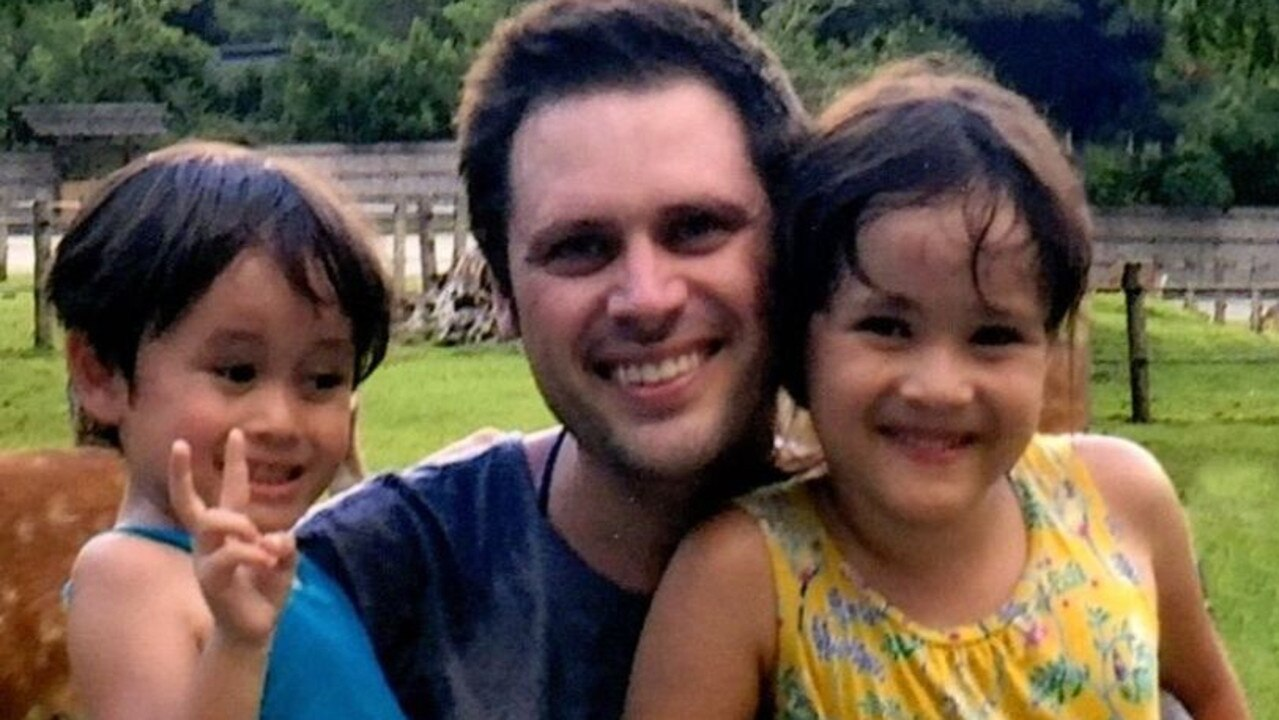 Australian sports journalist Scott McIntyre fears he will never see his children again. Picture: Supplied