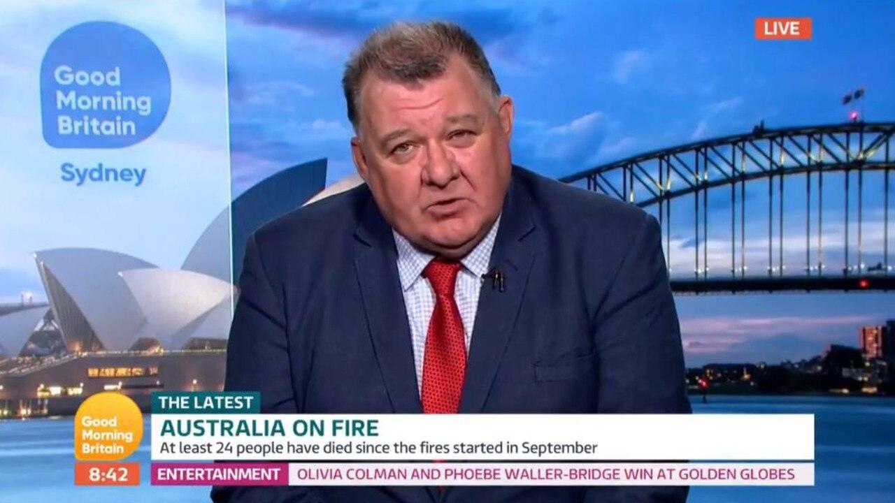 MP Craig Kelly on Good Morning Britain.