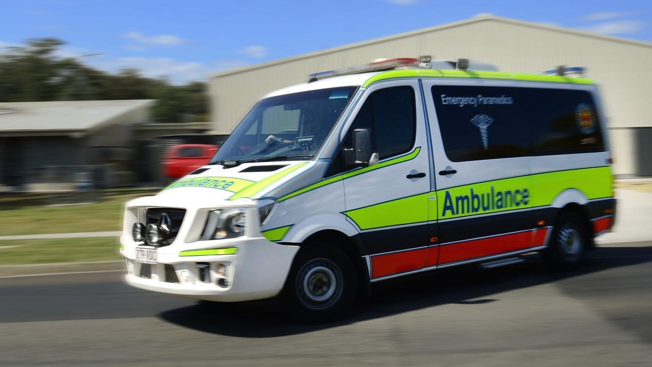 Paramedics were called to crash at Tinbeerwah this afternoon. FILE PIC