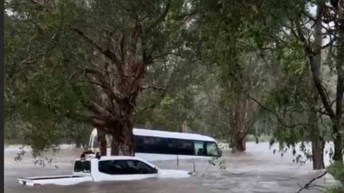 Holidaymakers still trapped after freak flood