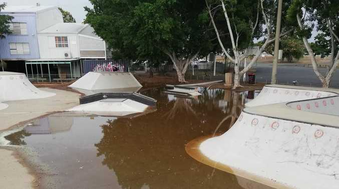 Locals see red over skate park maintenance issues