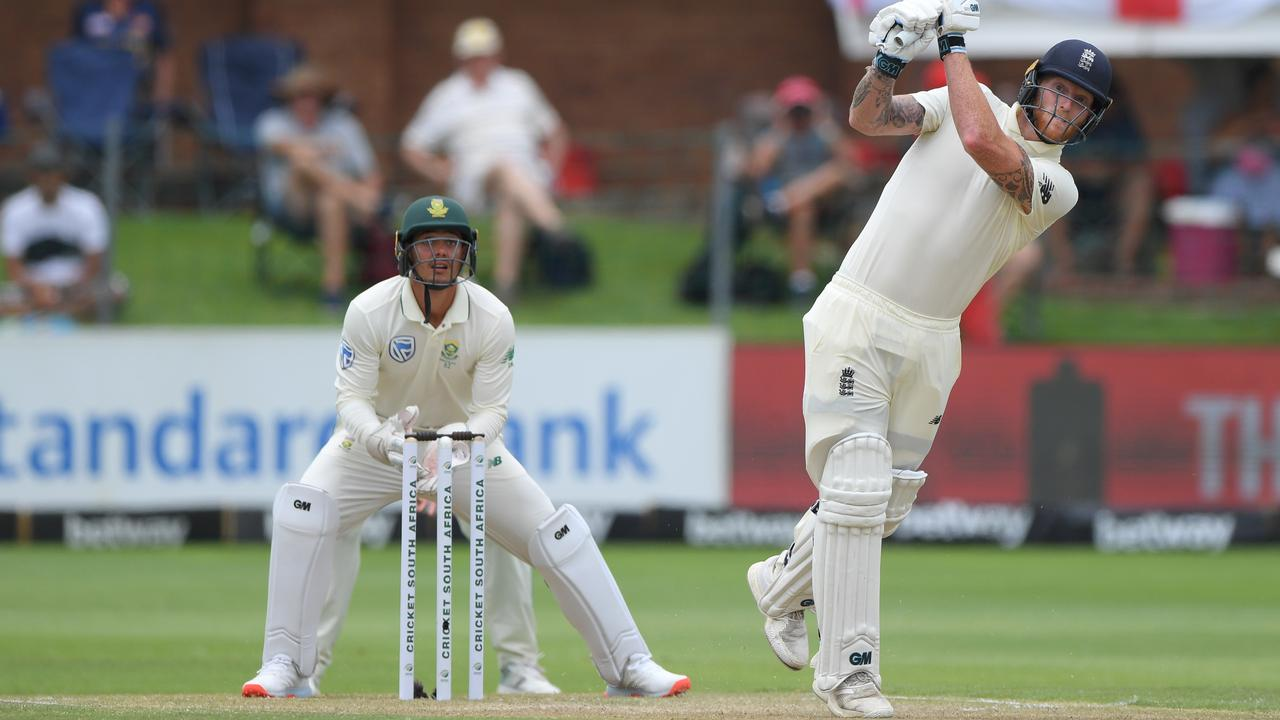 Ben Stokes was in electric form again as England took a tight grip on proceedings at Port Elizabeth.