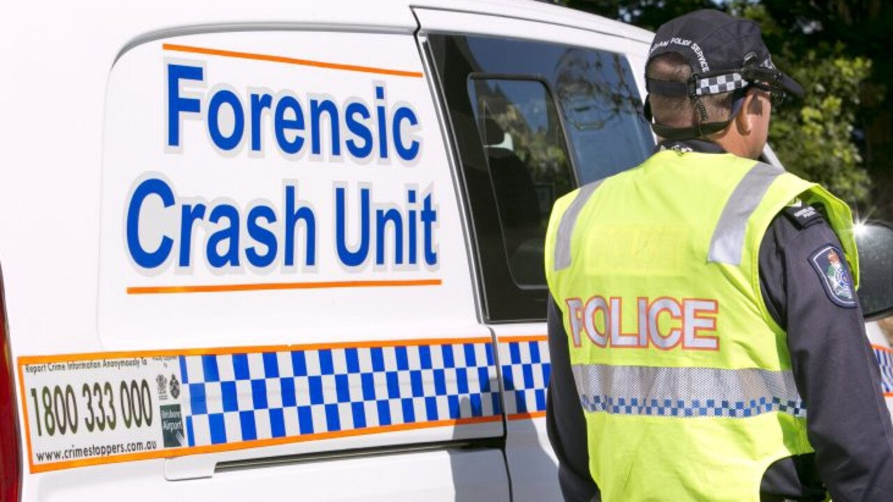 INVESTIGATION: Forensic Crash Unit officers are looking into the crash.