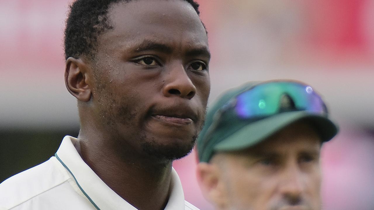 South African paceman Kagiso Rabada must serve a one-match ban.