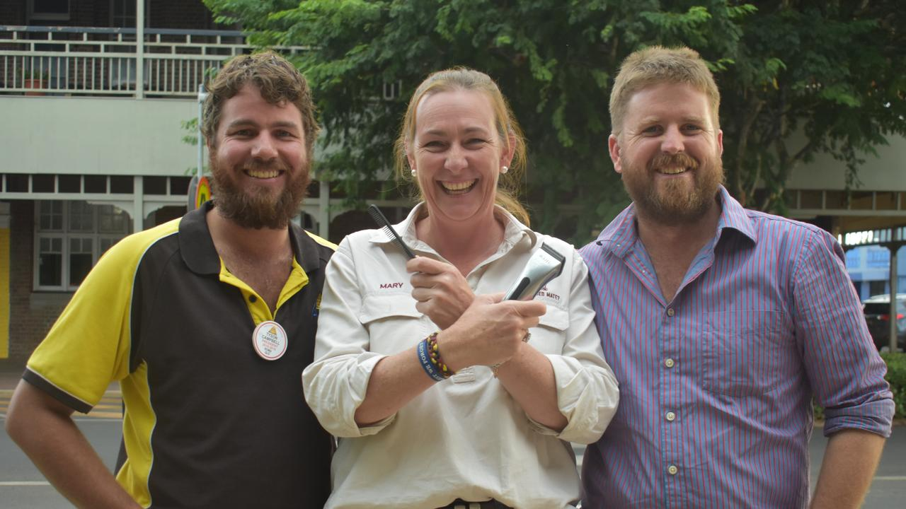 Tyson Campbell, Mary O'Brien from Are You Bogged Mate? and Scott Loughnan.