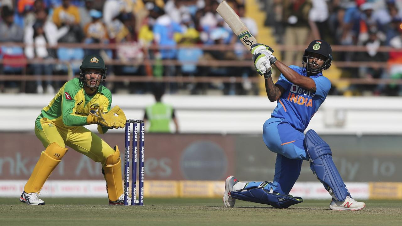Shikhar Dhawan was in imposing form at the top of the order for the hosts.