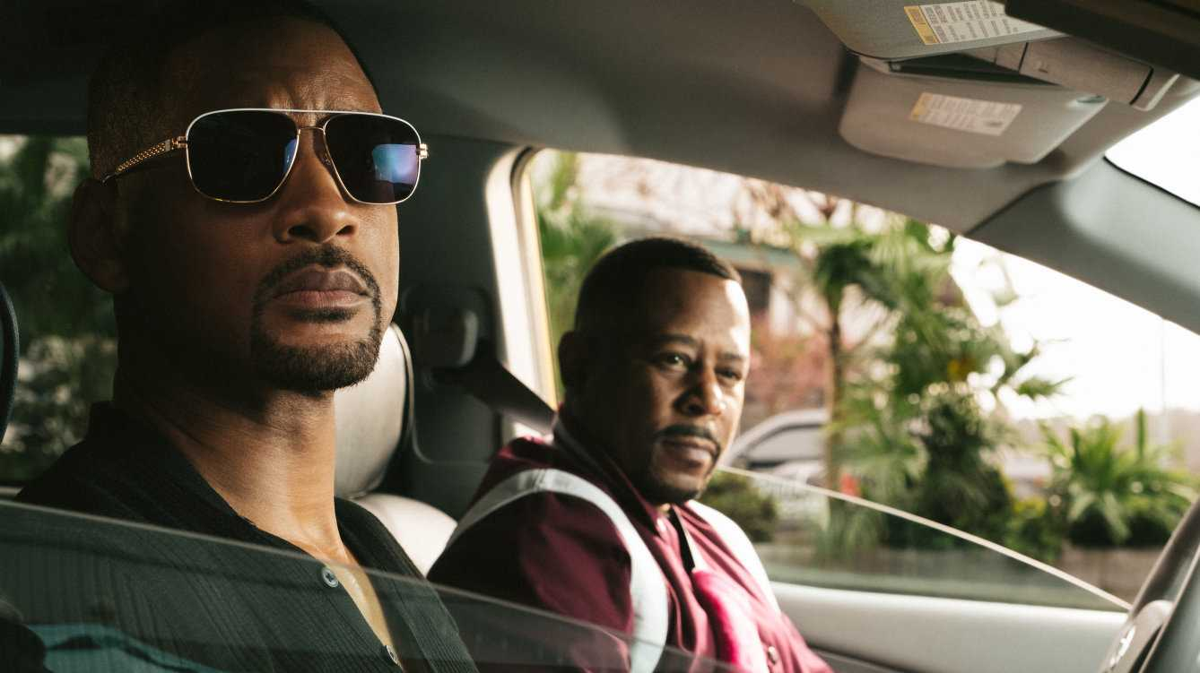 Will Smith and Martin Lawrence in a scene from the movie Bad Boys for Life.