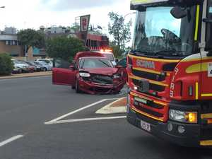 Two patients treated following crash in CBD