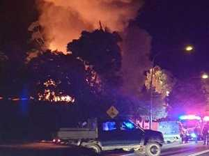 'Too dangerous': Massive blaze torches classic home
