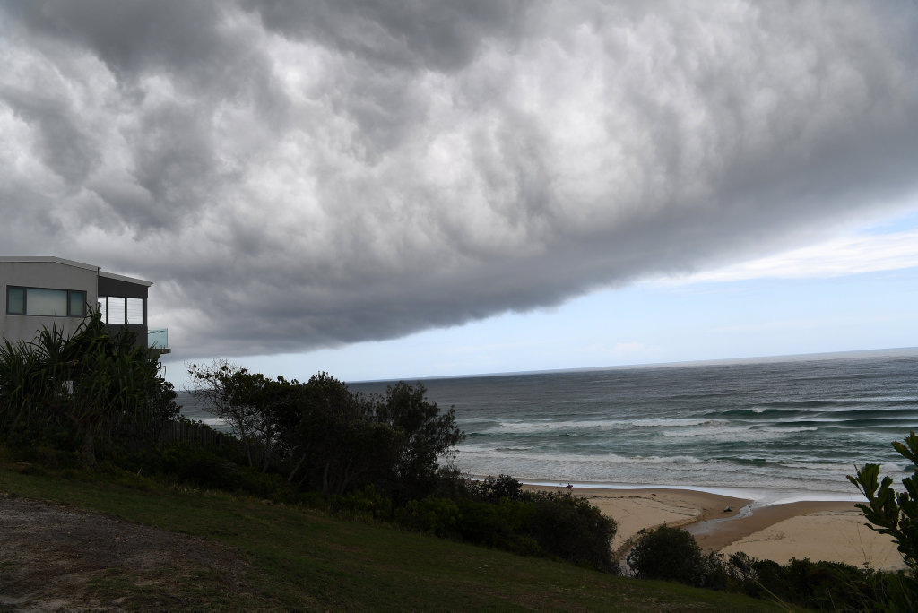 Image for sale: Storm clouds over Sunrise Beach.