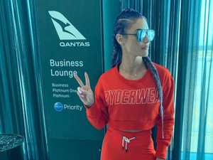 Huge no to activewear on a plane