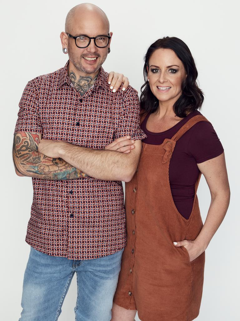 Dan lost 85kg by 2019, when he and Steph return for MKR: The Rivals