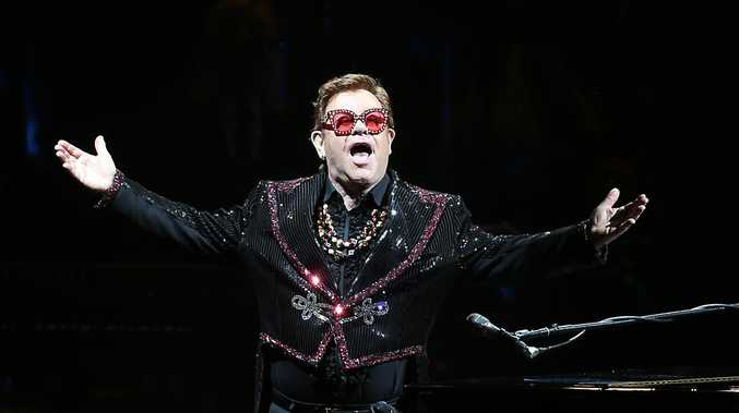 Elton's emotional Queensland gig