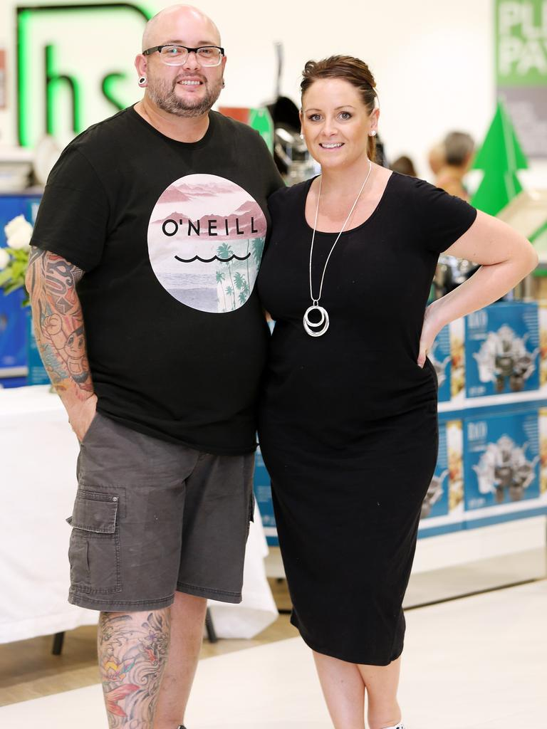 Dan has had gastric sleeve surgery since he and Steph last appeared on MKR in 2013. Photo: Tara Croser