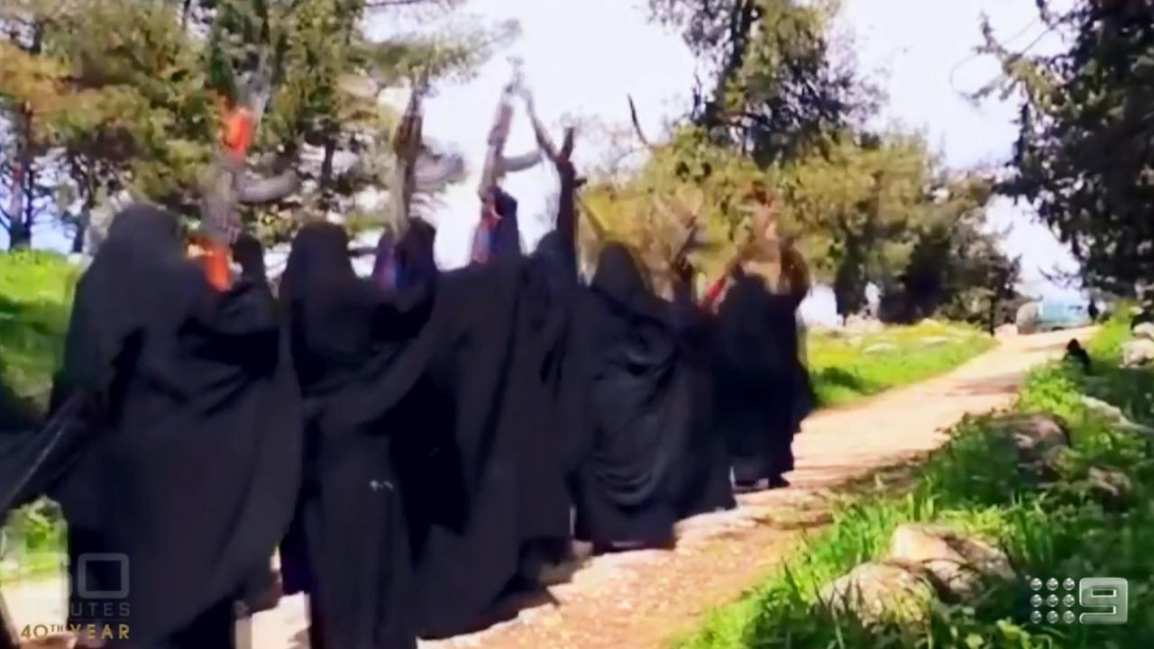 Australian brides of IS fighters could pose ongoing security threats and must be carefully vetted an international war crimes investigator has warned. Picture: Supplied