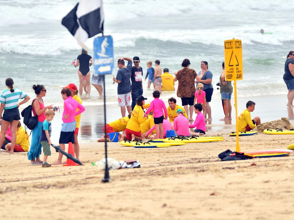 Alexandra Headland Beach helping children with disabilities Photo: John McCutcheon / Sunshine Coast Daily