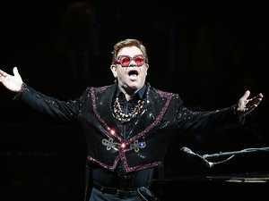 Elton's emotional Queensland gig