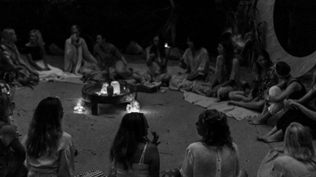 CALM: A moon circle ritual.
